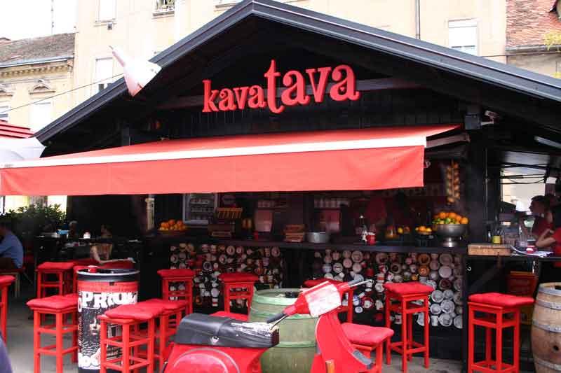 Zagreb coffee shops - Kava tava