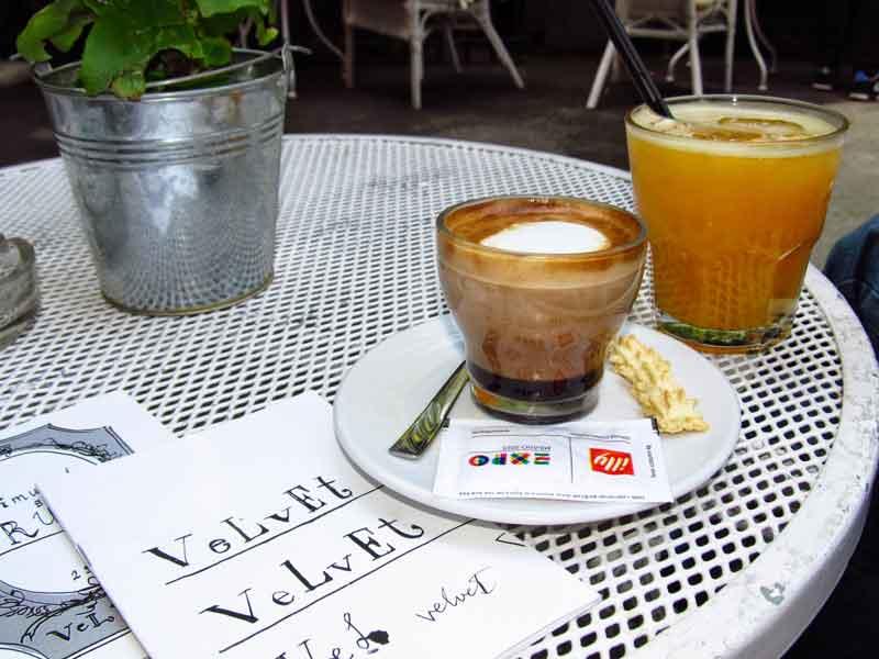 Zagreb coffee shops - Velvet