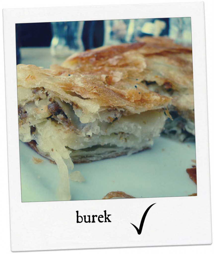 Zagreb street food - Burek