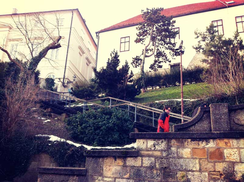 Felbingerove staircase | Zagreb Honestly