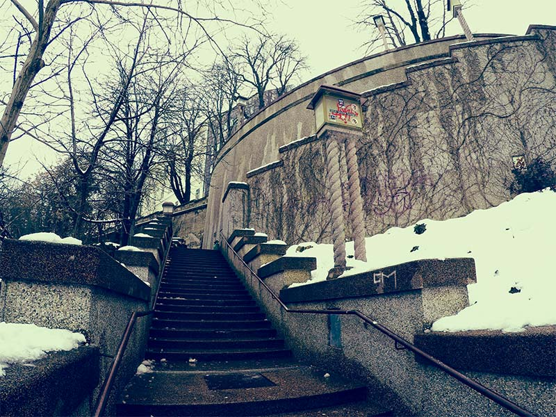 Zakmardijeve staircase | Zagreb Honestly