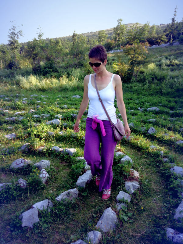 Krmpote Labyrinth of creation - hiking Croatian coast