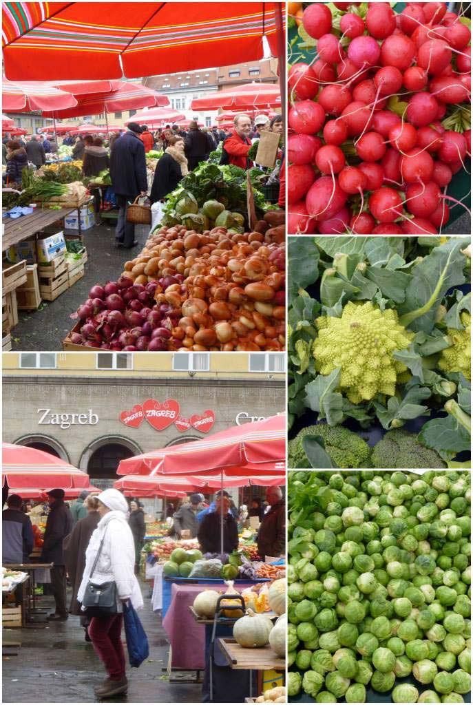 Zagreb Markets - Dolac