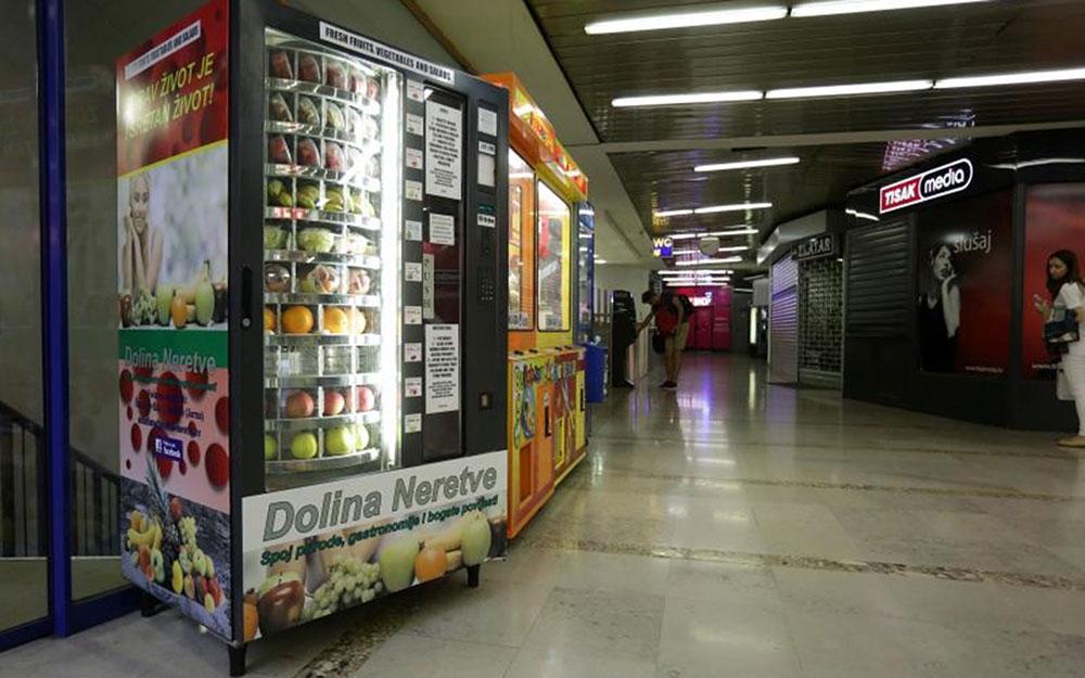 Zagreb Markets - Fruit Machine