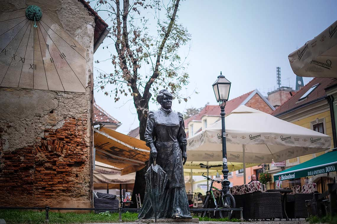 Sculptures of Croatian writers in Zagreb | Zagreb Honestly