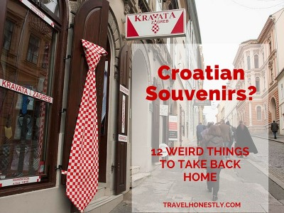Croatian souvenirs | Zagreb Honestly