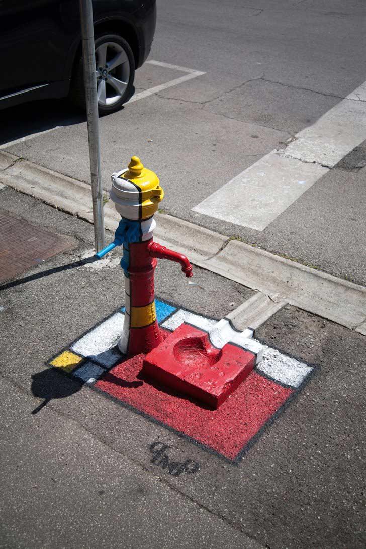 Pimp my Pump - Mondrian, photo by Pimp my Pump
