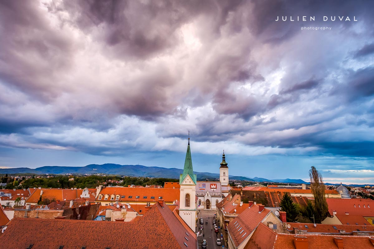 Zagreb fluffy clouds | Zagreb Honestly | Photos of Croatia
