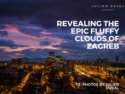 Zagreb fluffy clouds | Croatia Honestly | Photos of Croatia