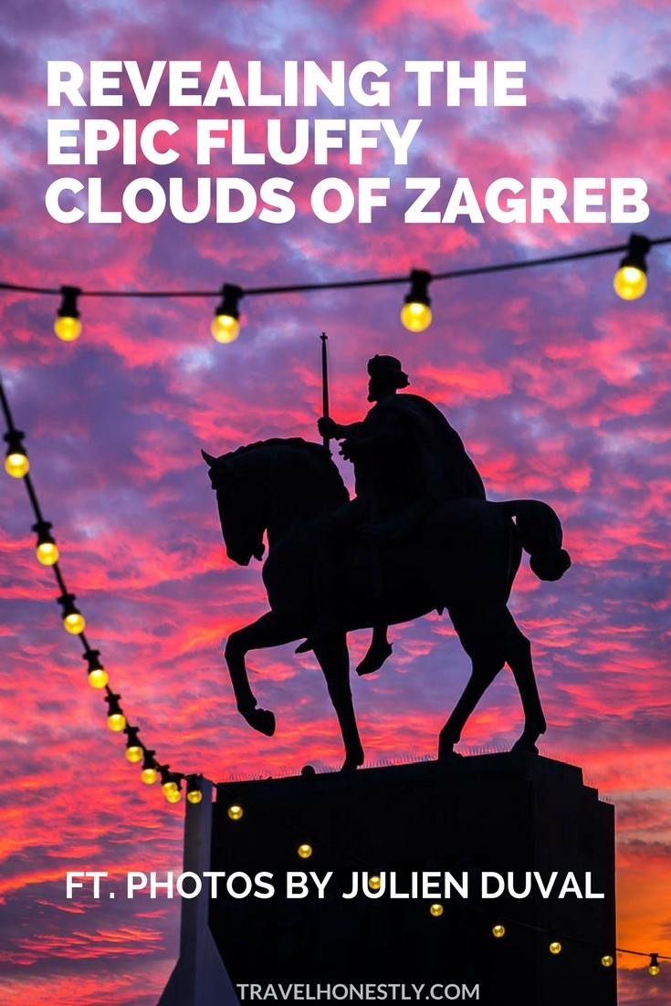 Zagreb skies are so dramatic there's always a celestial performance going on up there. From purple fluffy clouds to brooding overcast skyline. Just look up!