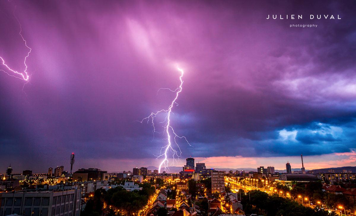 Zagreb fluffy clouds | Zagreb Honestly | Photos of Croatia