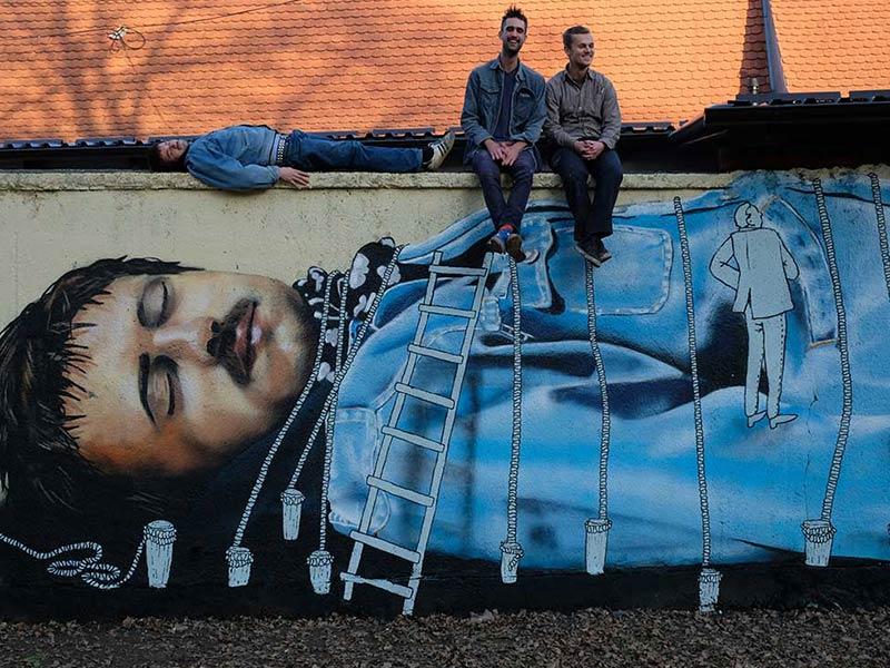 Zagreb street art controversy and why you should love 'Gulliver'
