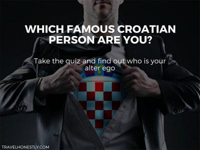 Super quiz: which famous Croatian person are you?