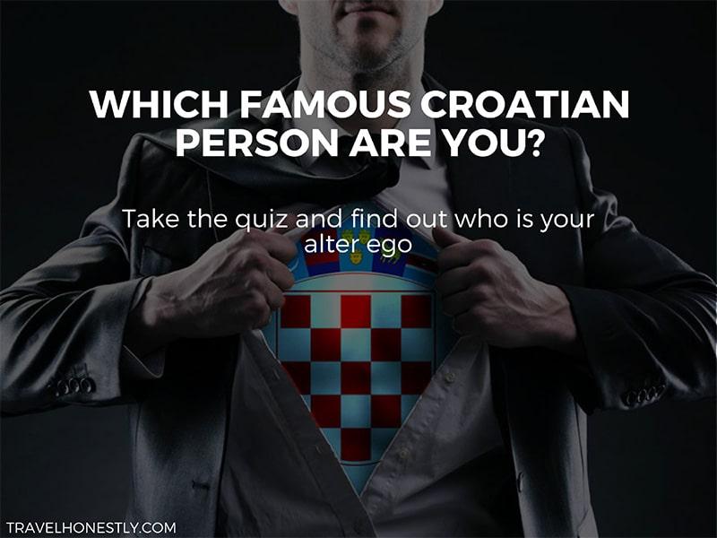 Famous Croatian people quiz