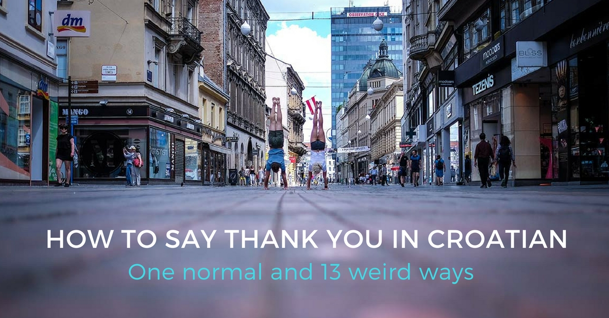 how to say please in croatian