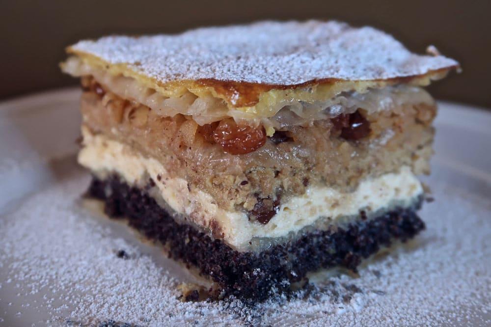 Croatian Desserts Medjimurska Gibanica