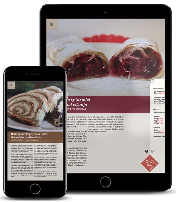 Croatian Desserts E-book