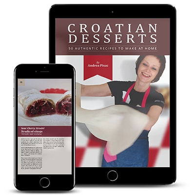 Croatian Desserts Cookbook