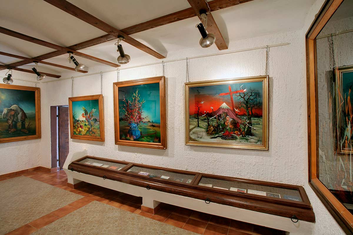 Croatian Naive Art - Ivan Vecenaj Gallery