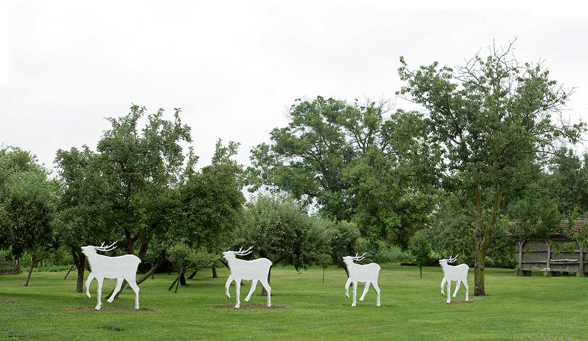 Croatian Naive Art - Josip Generalic Gallery Deer