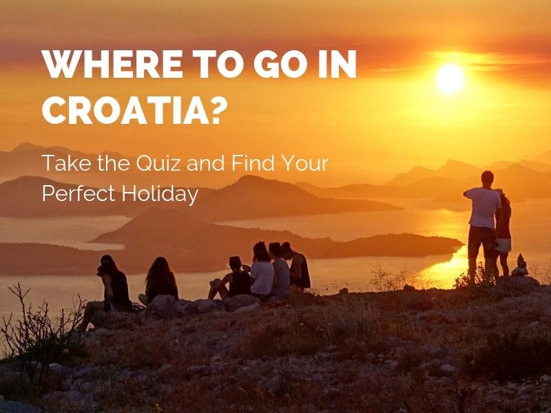Where to go in Croatia? Croatian Destinations Quiz