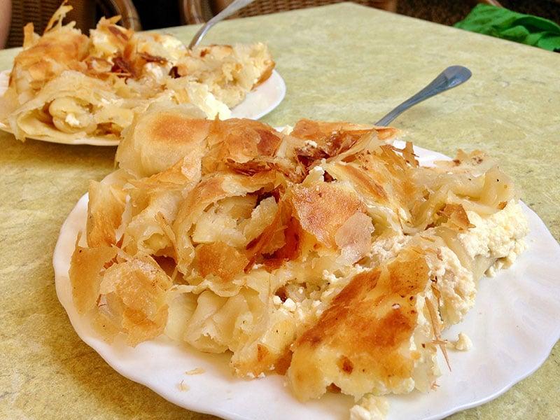 Burek - Croatian hangover cure