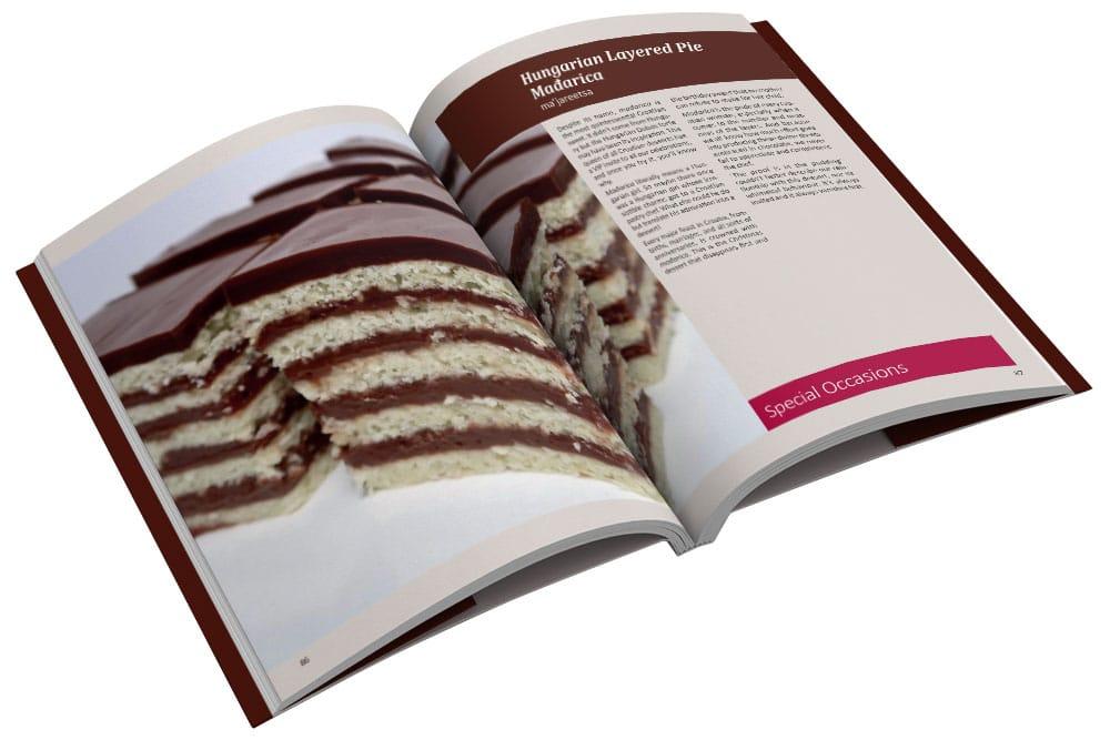 Croatian cake madjarica