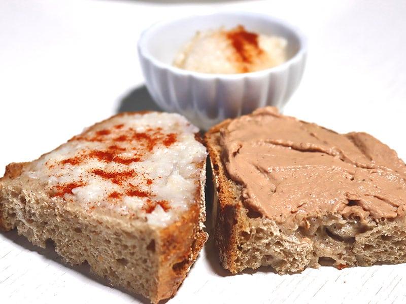 Croatian bread spreads