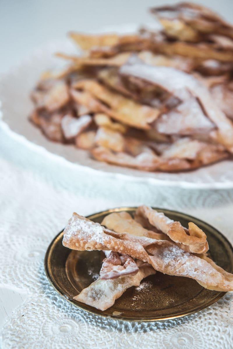 Croatian angel wings cookies