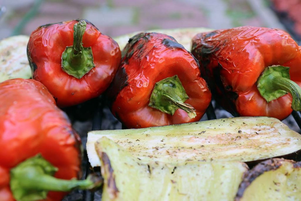 Croatian barbecue peppers